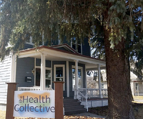 The Health Collective Building in Bozeman MT